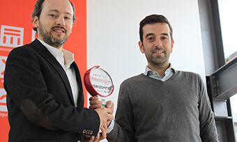 Catari, scaffold manufacturer receives Internationalization award