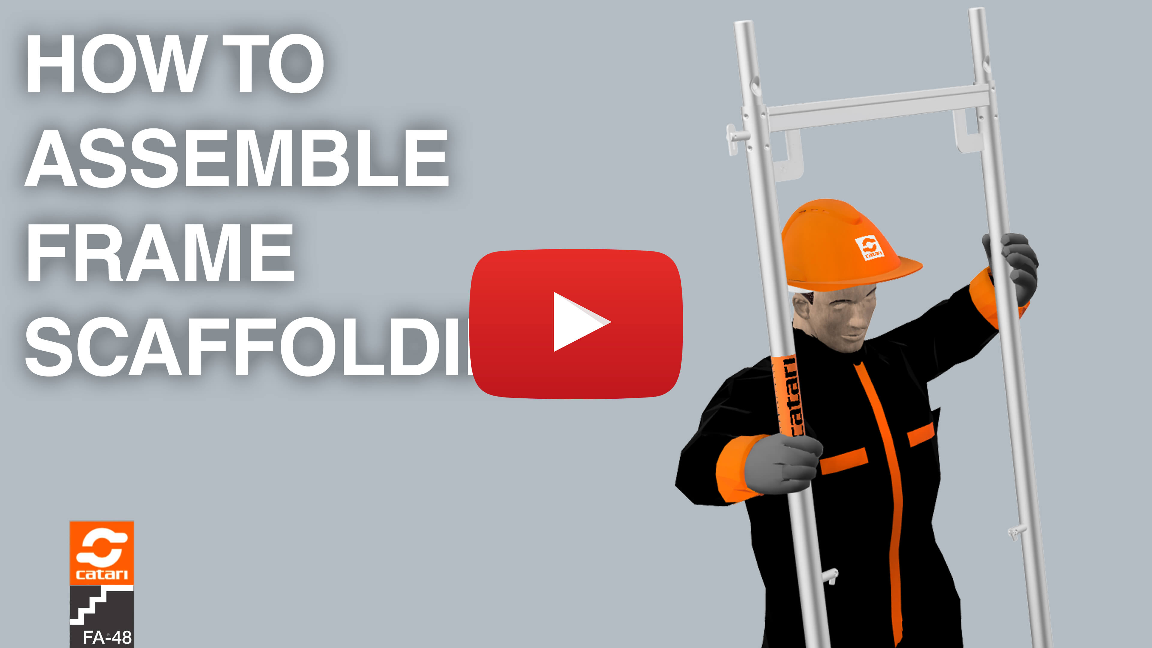 catari fa-48 frame scaffolding video