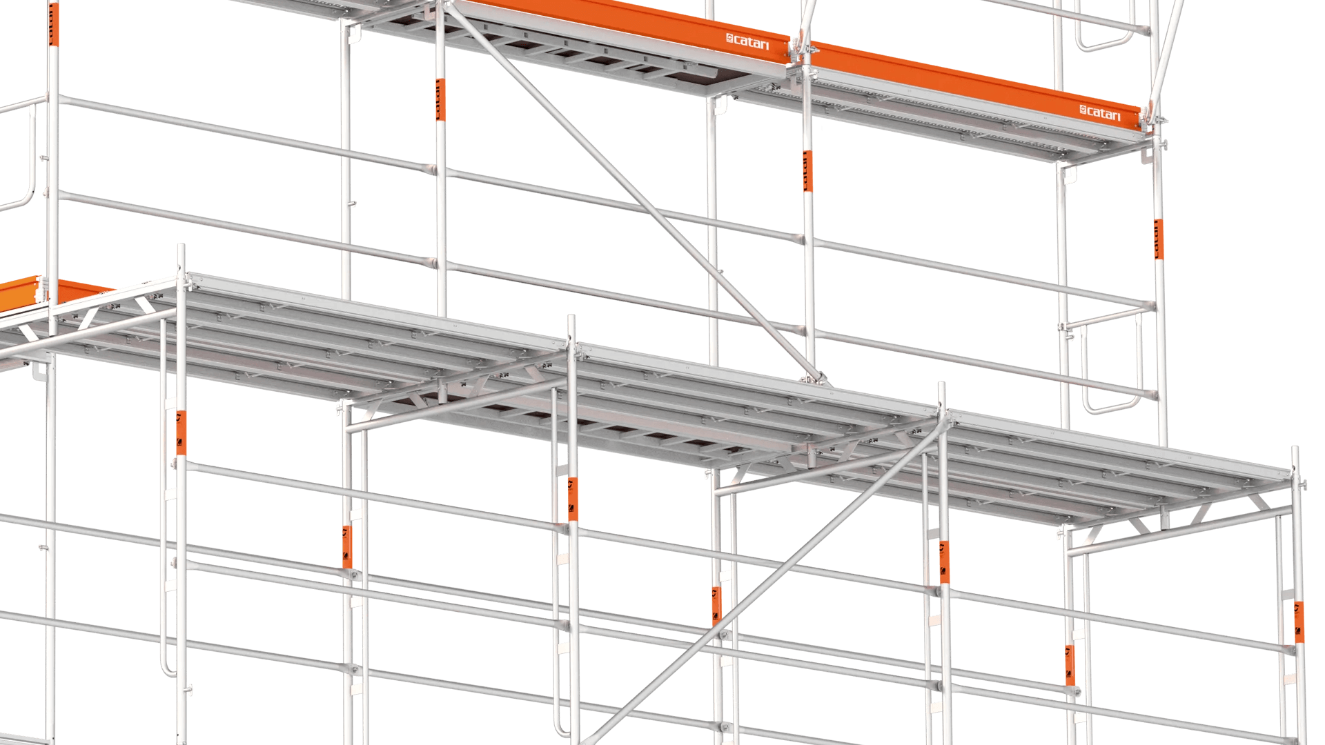 catari fa-48 scaffold walkway for pedestrians