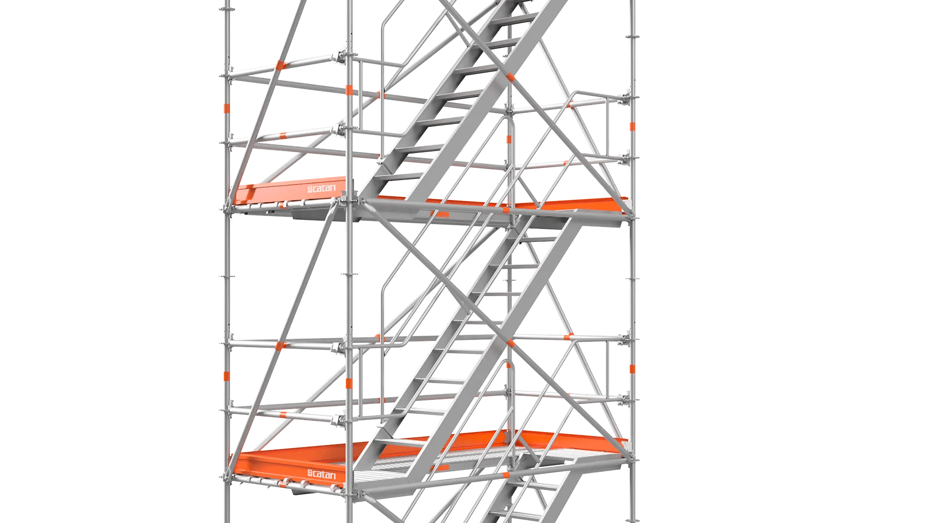 stairway or scaffold stair tower
