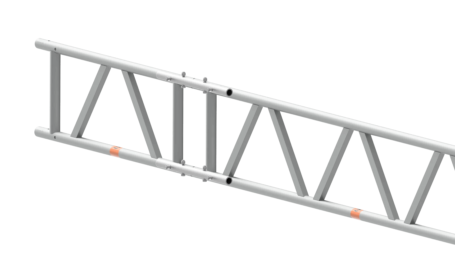 scaffolding beams jointed