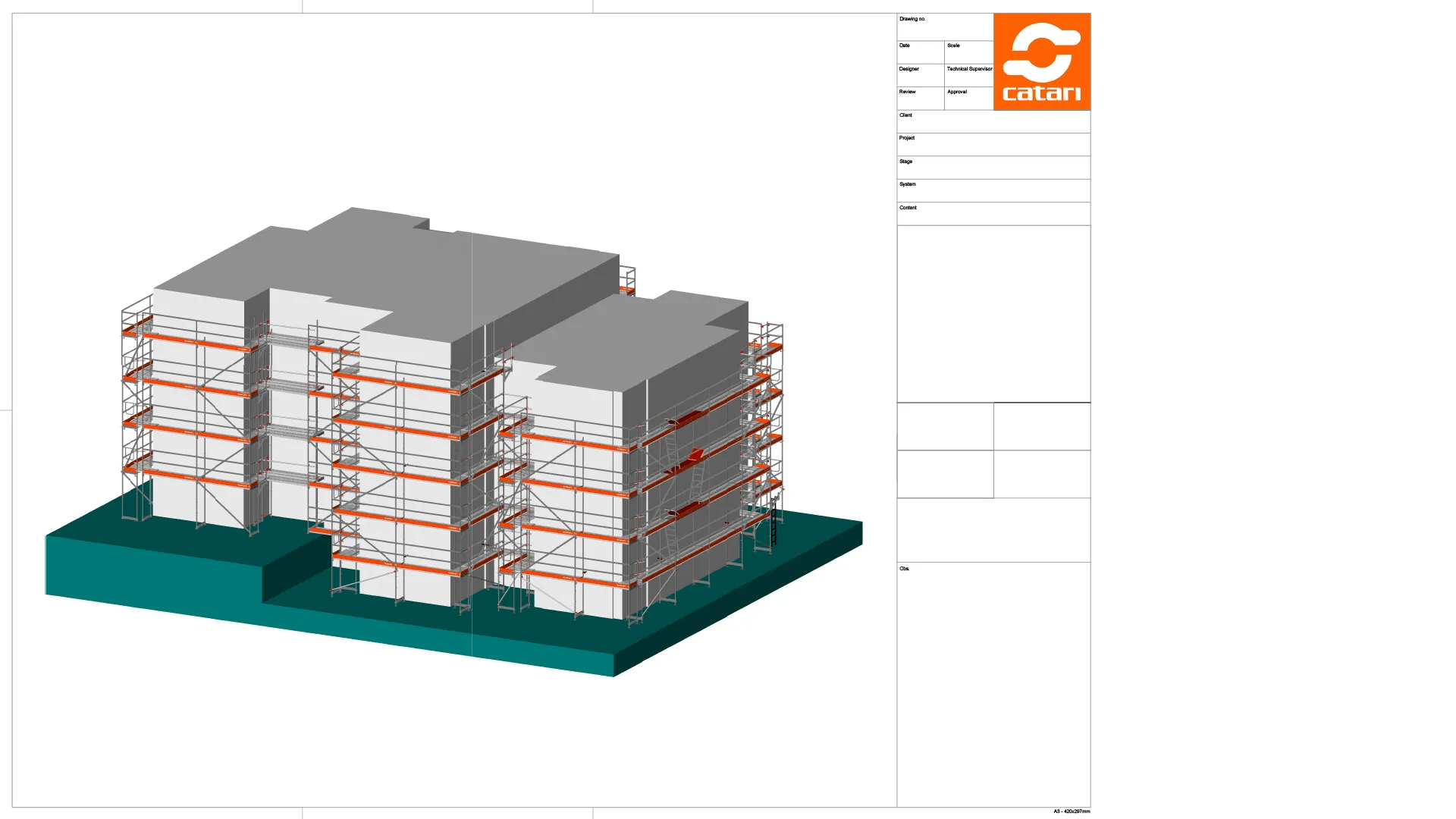 scaffolding project designer