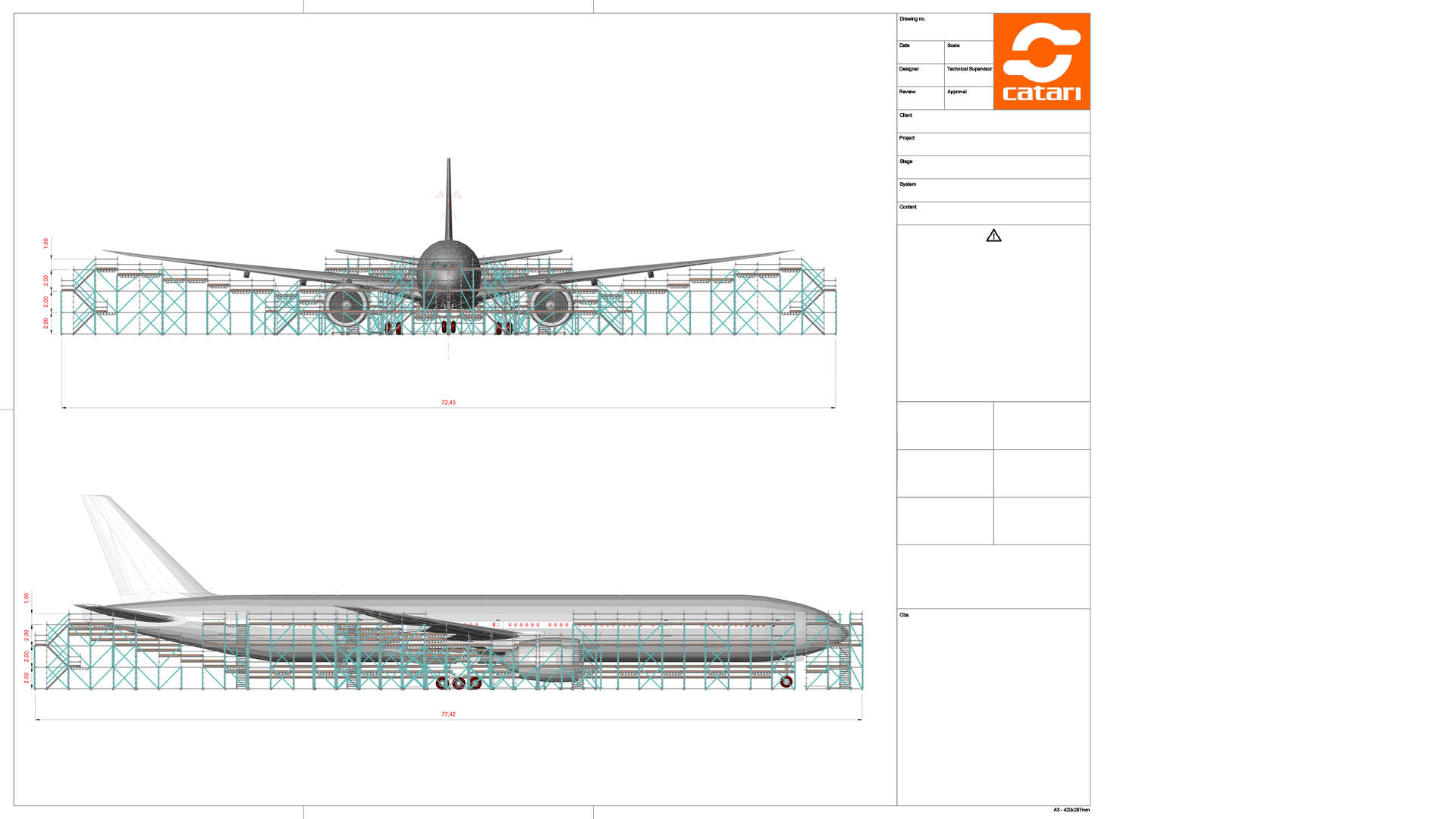 scaffolding project design