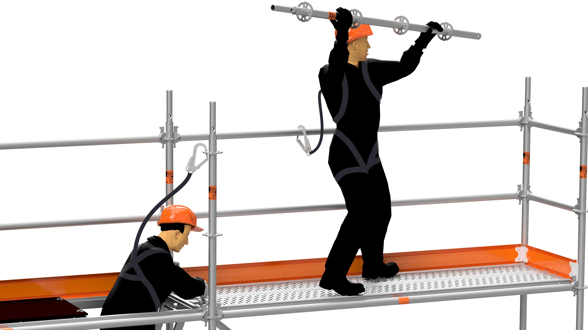 scaffolding safety harness