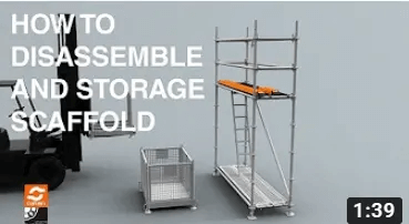 How to disassemble and store Catari US